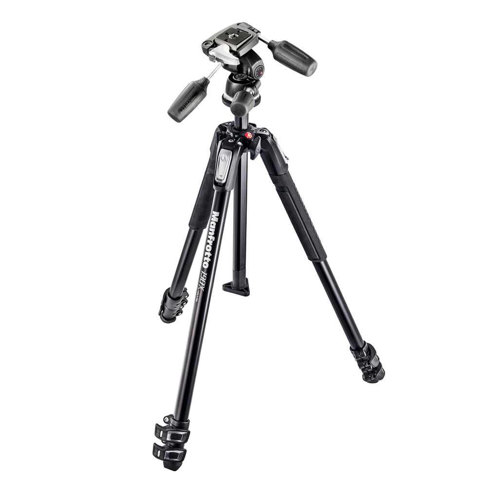 manfrotto mk190x3 3w tr pied appareil photo manfrotto. Black Bedroom Furniture Sets. Home Design Ideas
