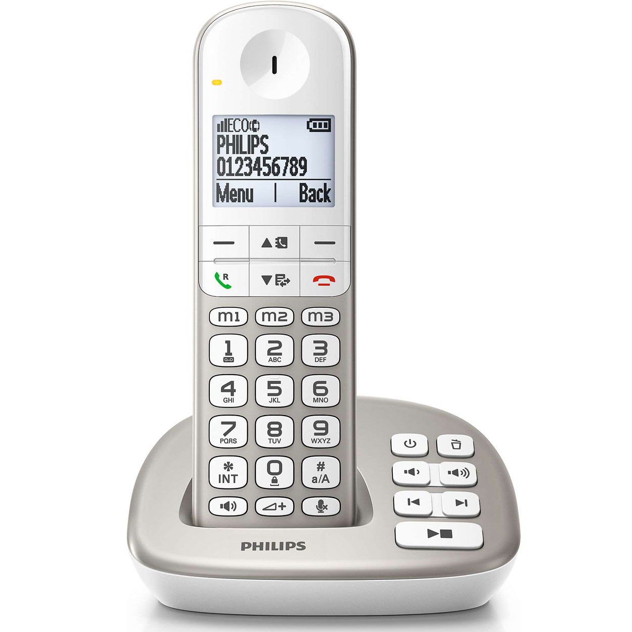philips xl4951s t l phone sans fil philips sur. Black Bedroom Furniture Sets. Home Design Ideas