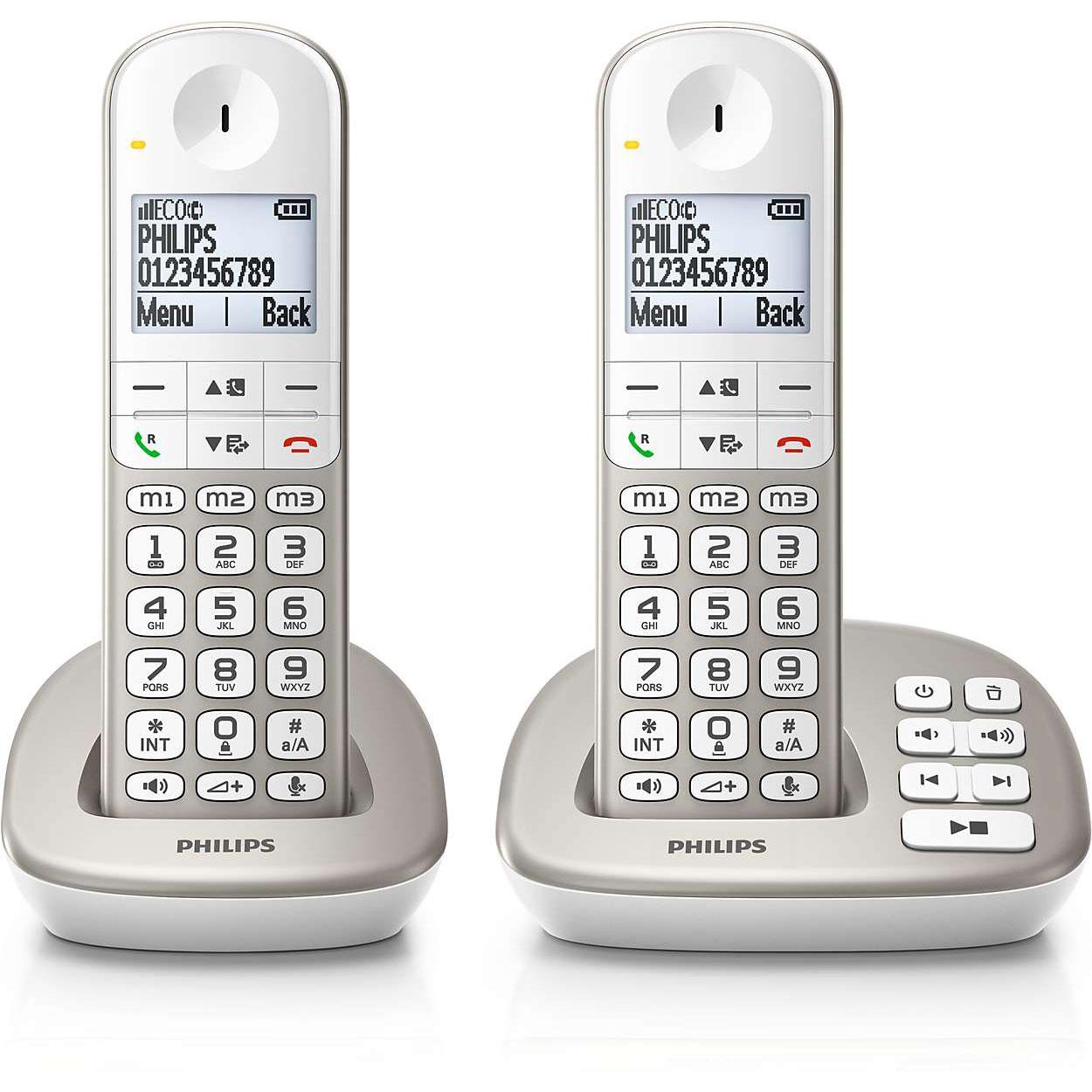 philips xl4952s t l phone sans fil philips sur. Black Bedroom Furniture Sets. Home Design Ideas