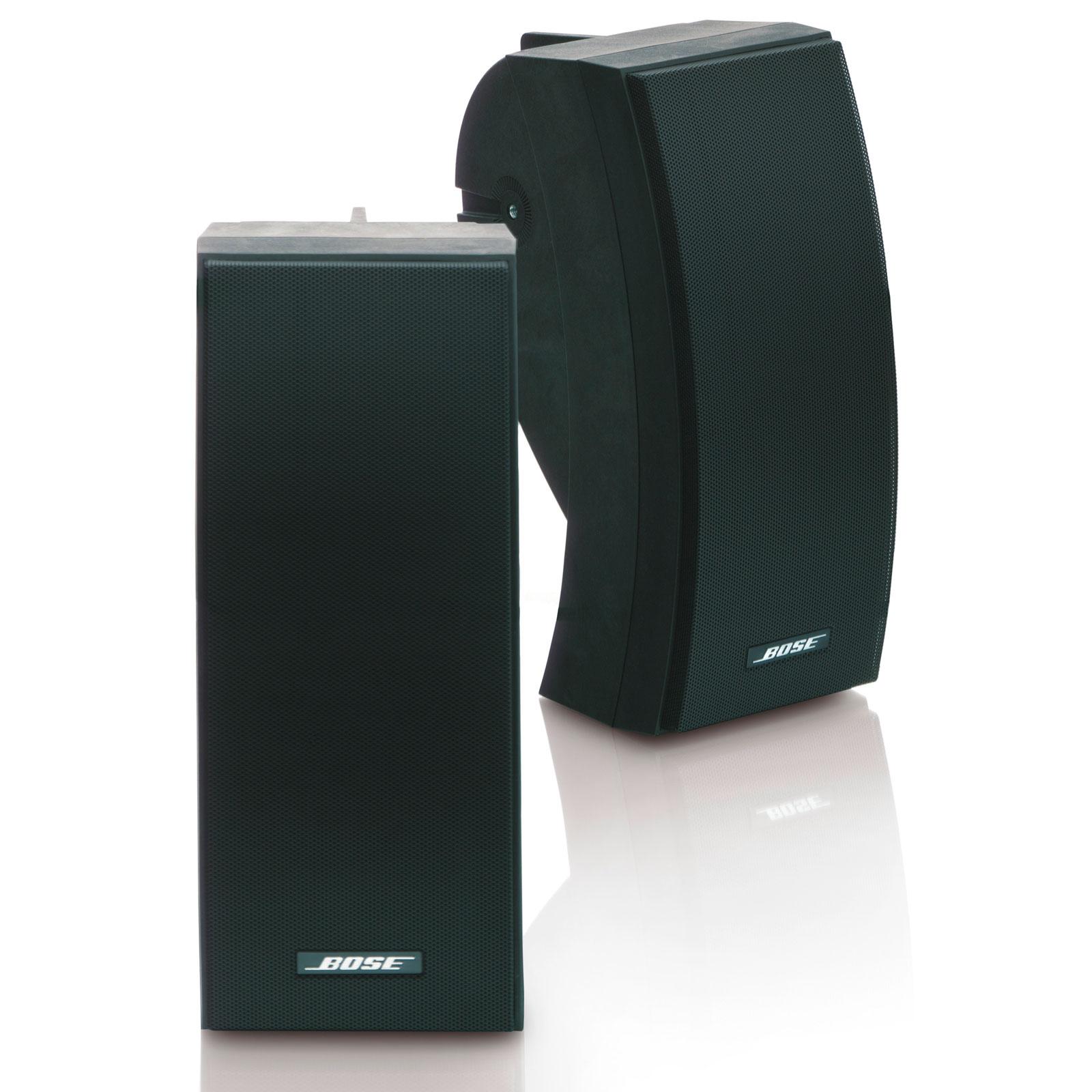 Bose freespace 251 noir enceintes hifi bose sur for Exterieur speaker