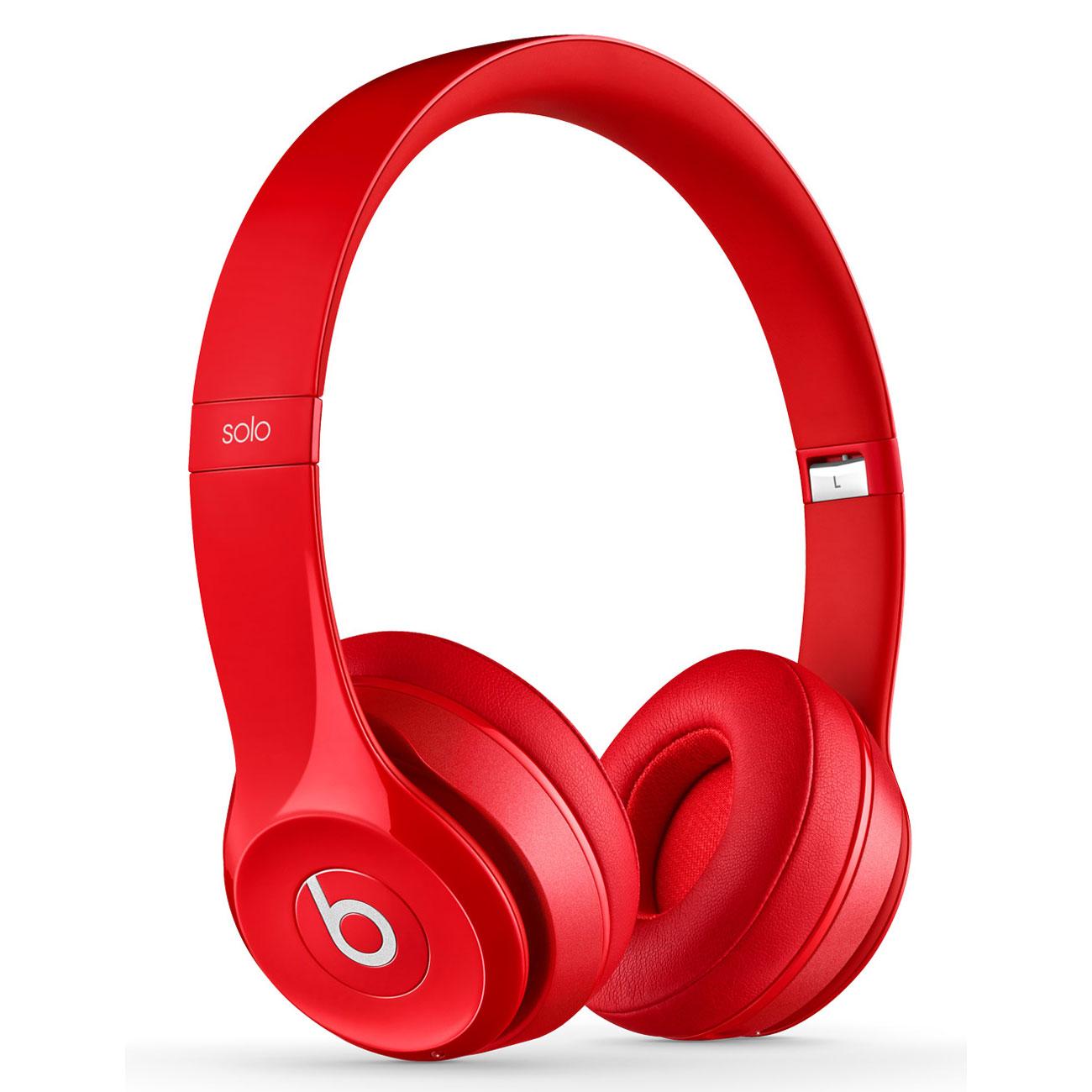 Beats Solo 2 Wireless Rouge - Casque Beats by Dr. Dre sur
