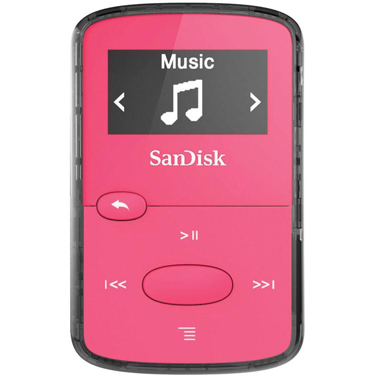 Lecteur MP3   iPod SanDisk Clip Jam Rose 8 Go Lecteur MP3 - Ecran OLED 0.96 7c63bc779894