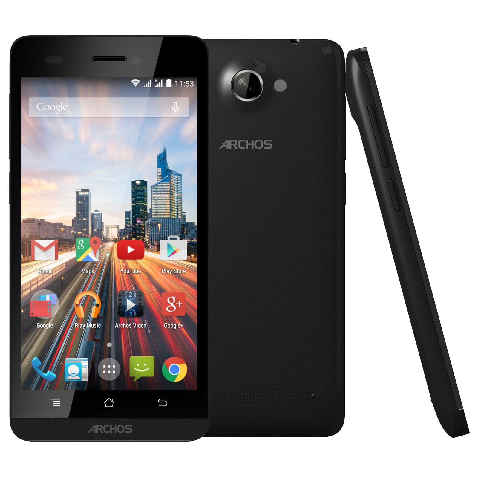 archos 45b helium noir mobile smartphone archos sur. Black Bedroom Furniture Sets. Home Design Ideas