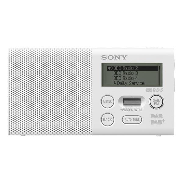 Sony xdr p1dbp blanc radio radio r veil sony sur ldlc for Radio numerique portable