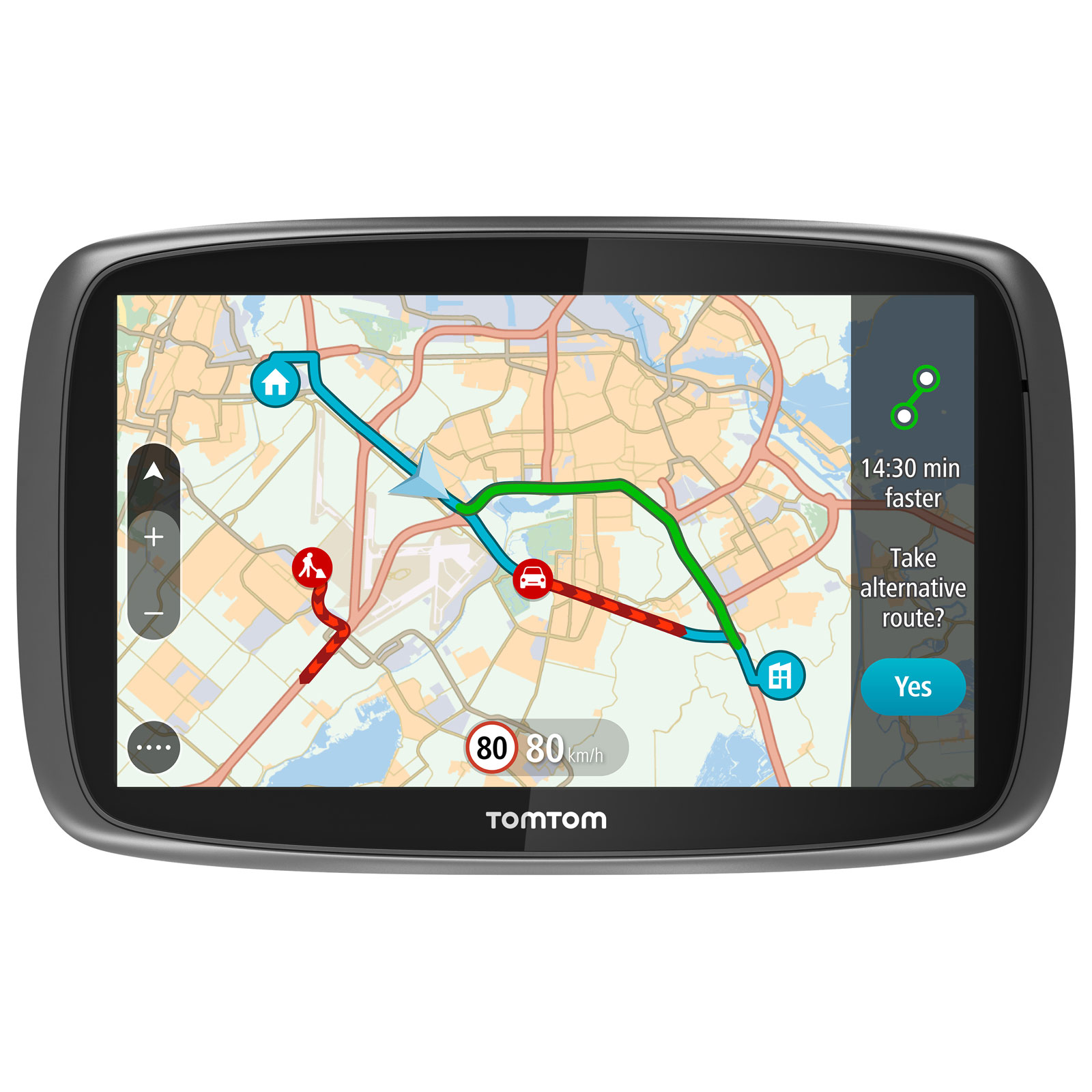 tomtom go 6100 gps tomtom sur. Black Bedroom Furniture Sets. Home Design Ideas