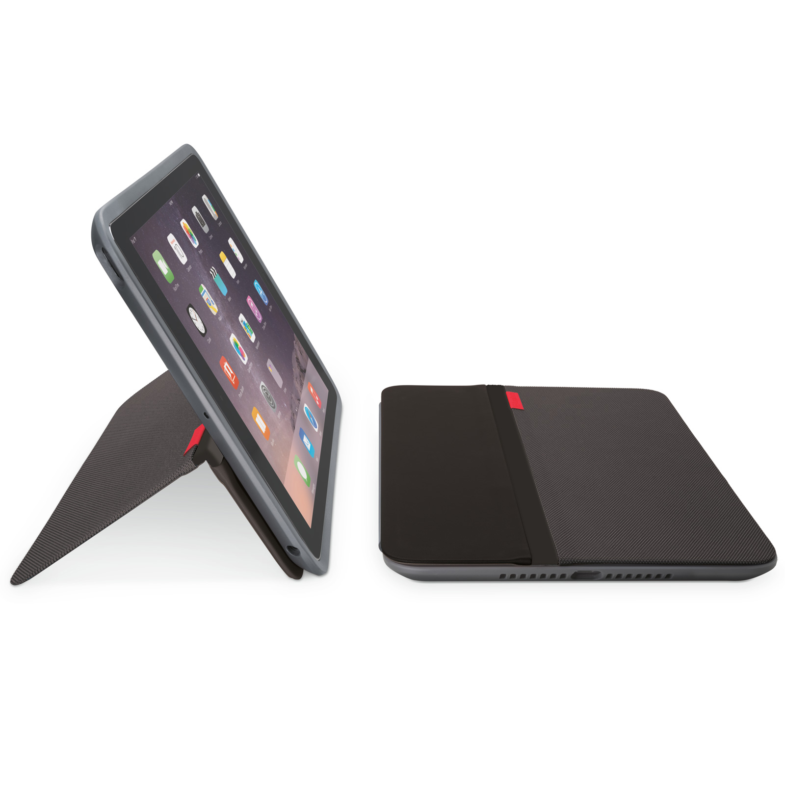 logitech anyangle for ipad air 2 noir etui tablette logitech sur. Black Bedroom Furniture Sets. Home Design Ideas