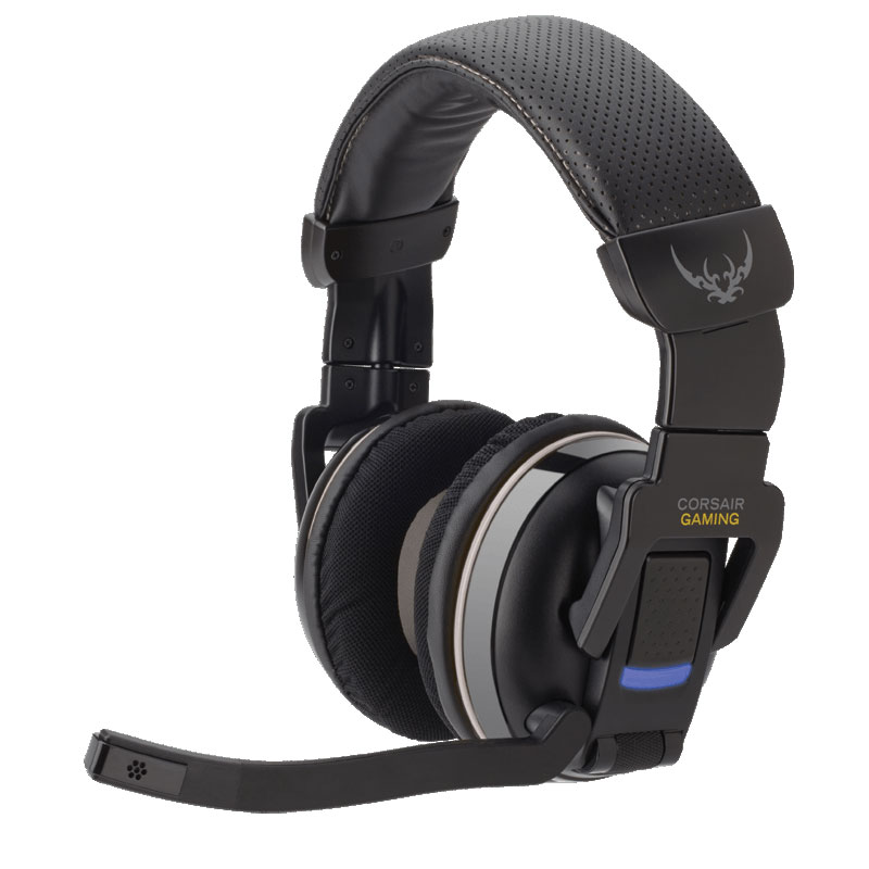 corsair gaming h2100 dolby 7 1 gris micro casque corsair. Black Bedroom Furniture Sets. Home Design Ideas