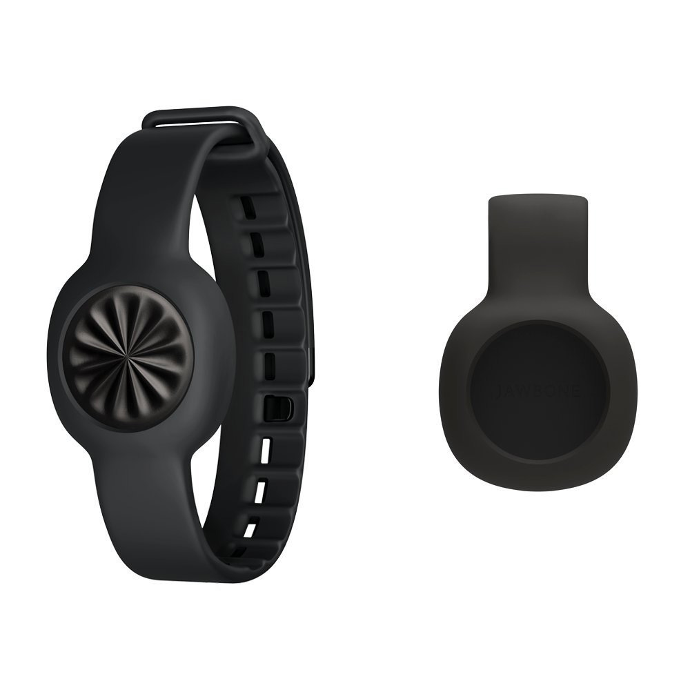 Bracelet connecté Jawbone UP Move Noir + Strap Noir Coach électronique sans fil pour smartphone iOS & Android + Bracelet