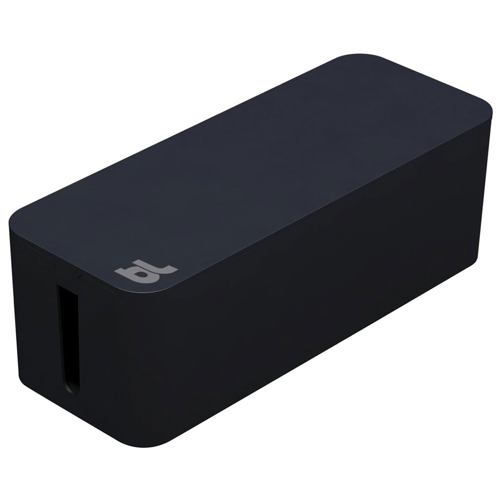 bluelounge cablebox noir rangement bluelounge sur. Black Bedroom Furniture Sets. Home Design Ideas