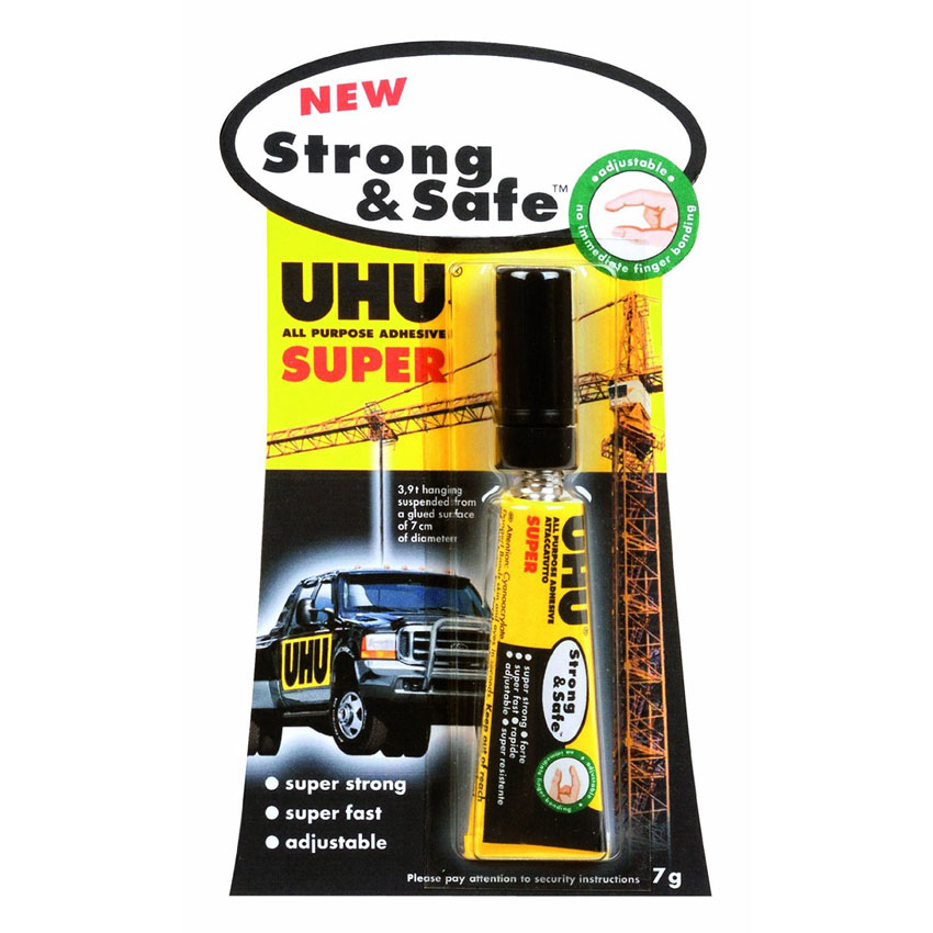 Uhu Strong & Safe Colle Forte Universelle - Ruban Adhésif & Colle