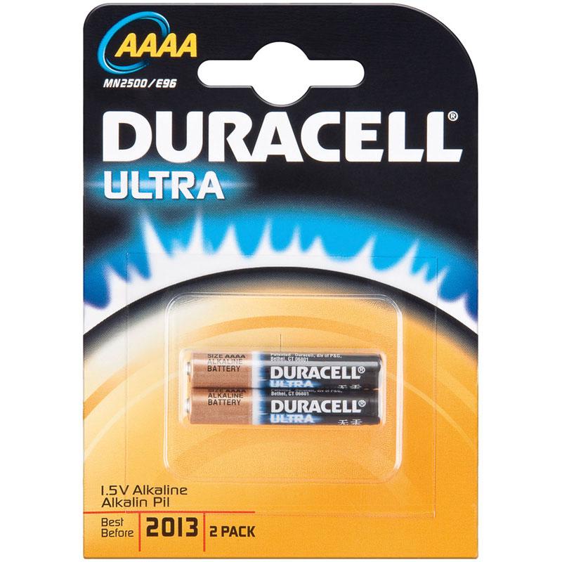 Pile   chargeur Duracell Ultra AAAA (par 2) Pack de 2 piles alcalines AAAA e99edfcef5dd