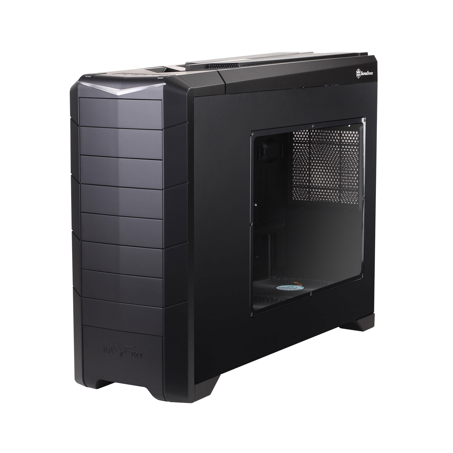silverstone raven rv02 e usb 3 0 edition noir bo tier pc silverstone sur. Black Bedroom Furniture Sets. Home Design Ideas