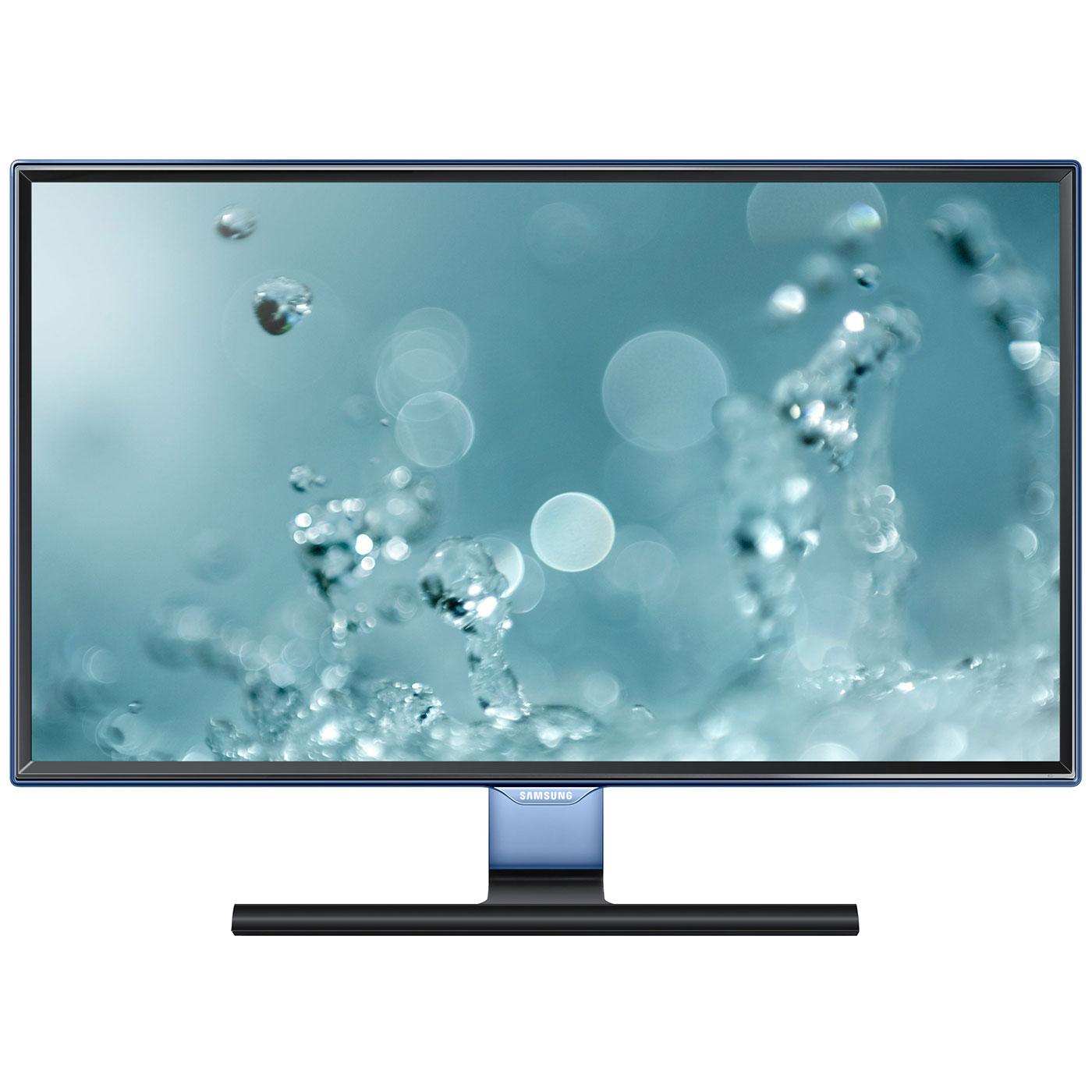 """Ecran PC Samsung 23.6"""" LED - S24E390HL 1920 x 1080 pixels - 4 ms (gris à gris) - Format large 16/9 - Dalle PLS - HDMI - Bleu/Noir (garantie constructeur 3 ans)"""