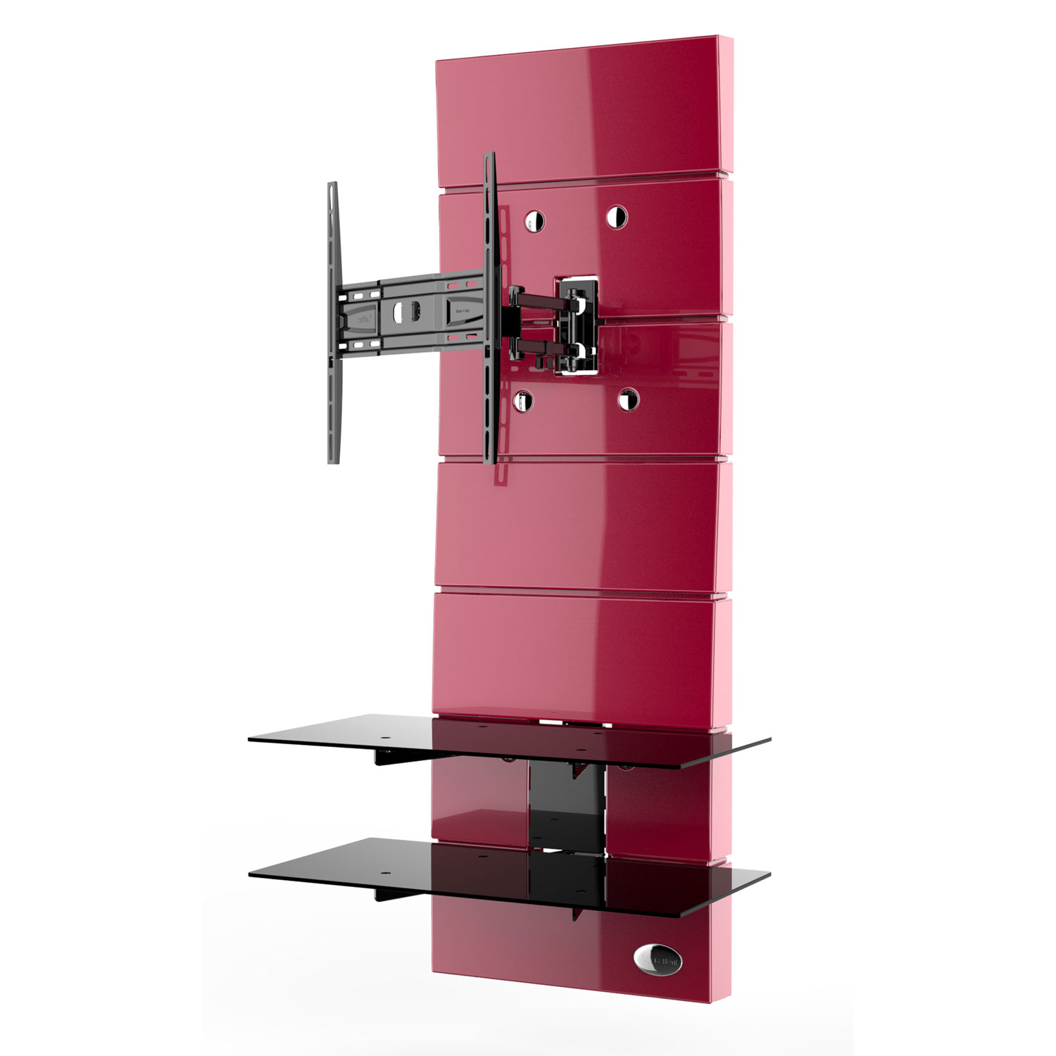 meliconi ghost design 3000 rotation rouge meuble tv meliconi sur. Black Bedroom Furniture Sets. Home Design Ideas