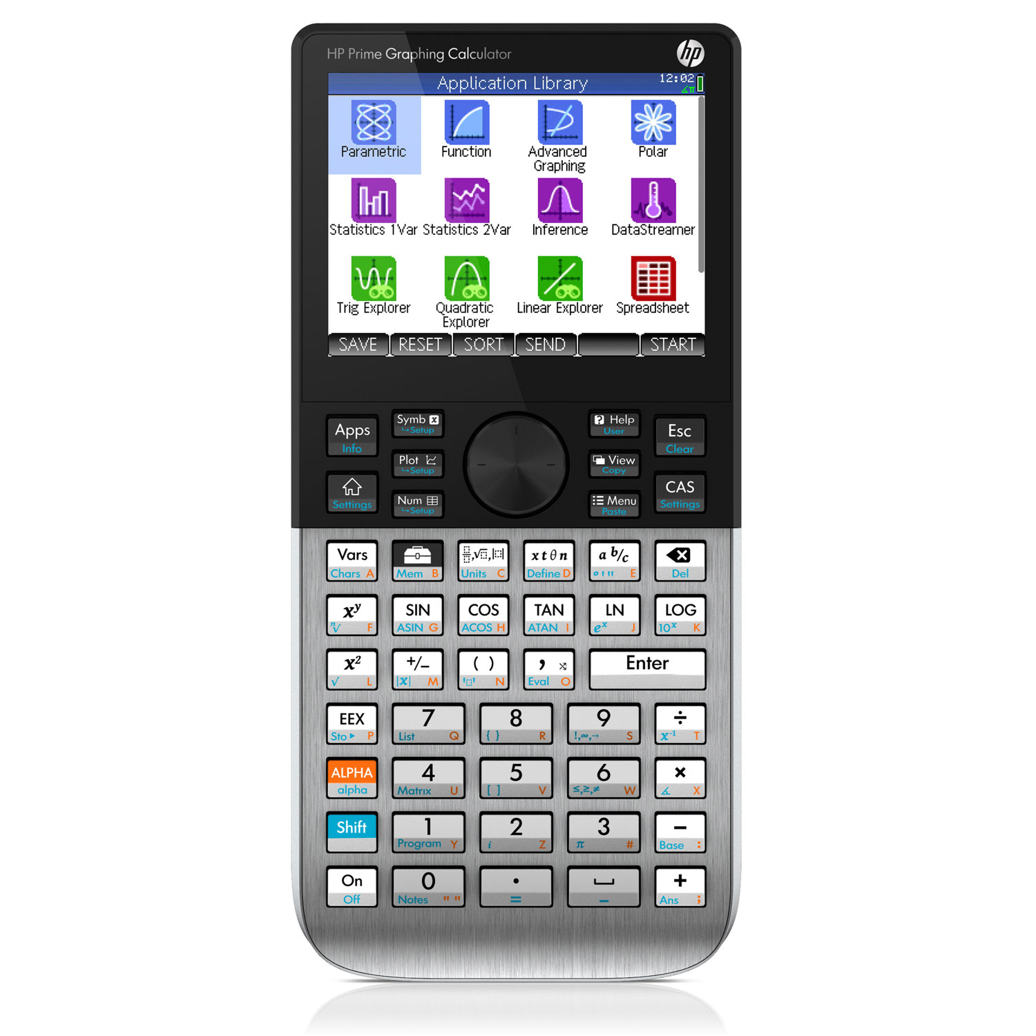 Calculatrice HP Prime Calculatrice graphique à écran tactile multitouch