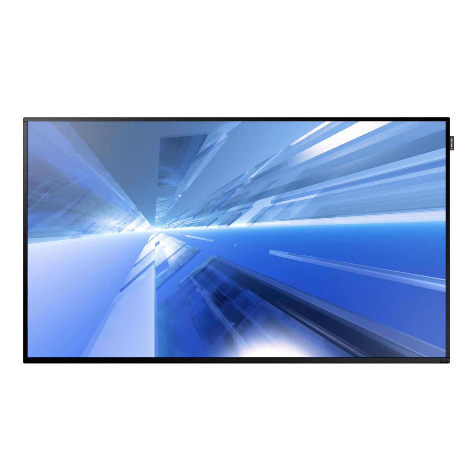 """Ecran dynamique Samsung 48"""" LED DM48E 1920 x 1080 pixels 16:9 - 5000:1 - 8 ms - HDMI - Wi-Fi - Haut parleurs intégrés - Noir"""