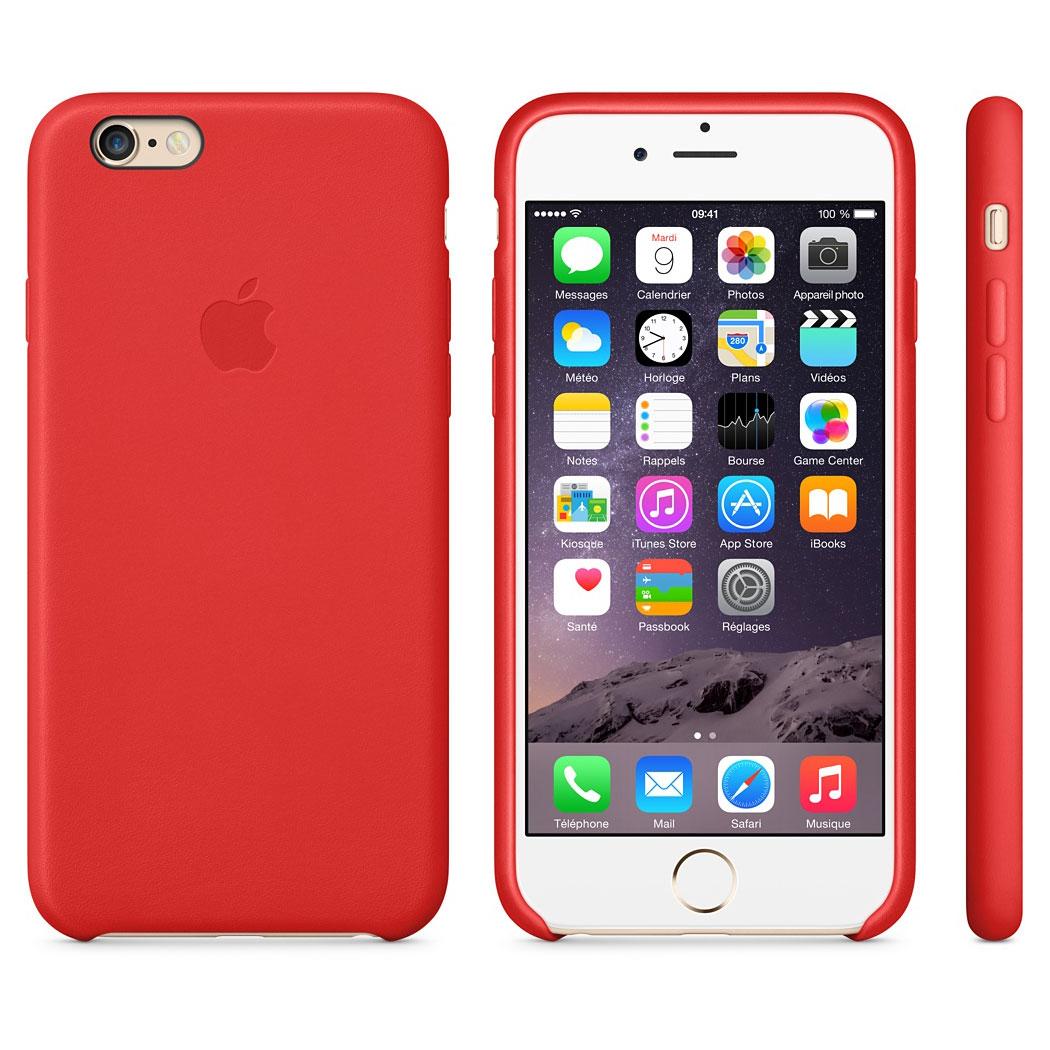 coque iphone 6 apple cuir