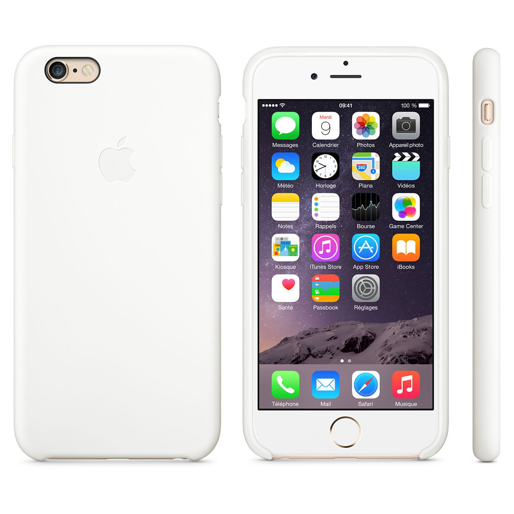 Coque Apple Blanche Iphone