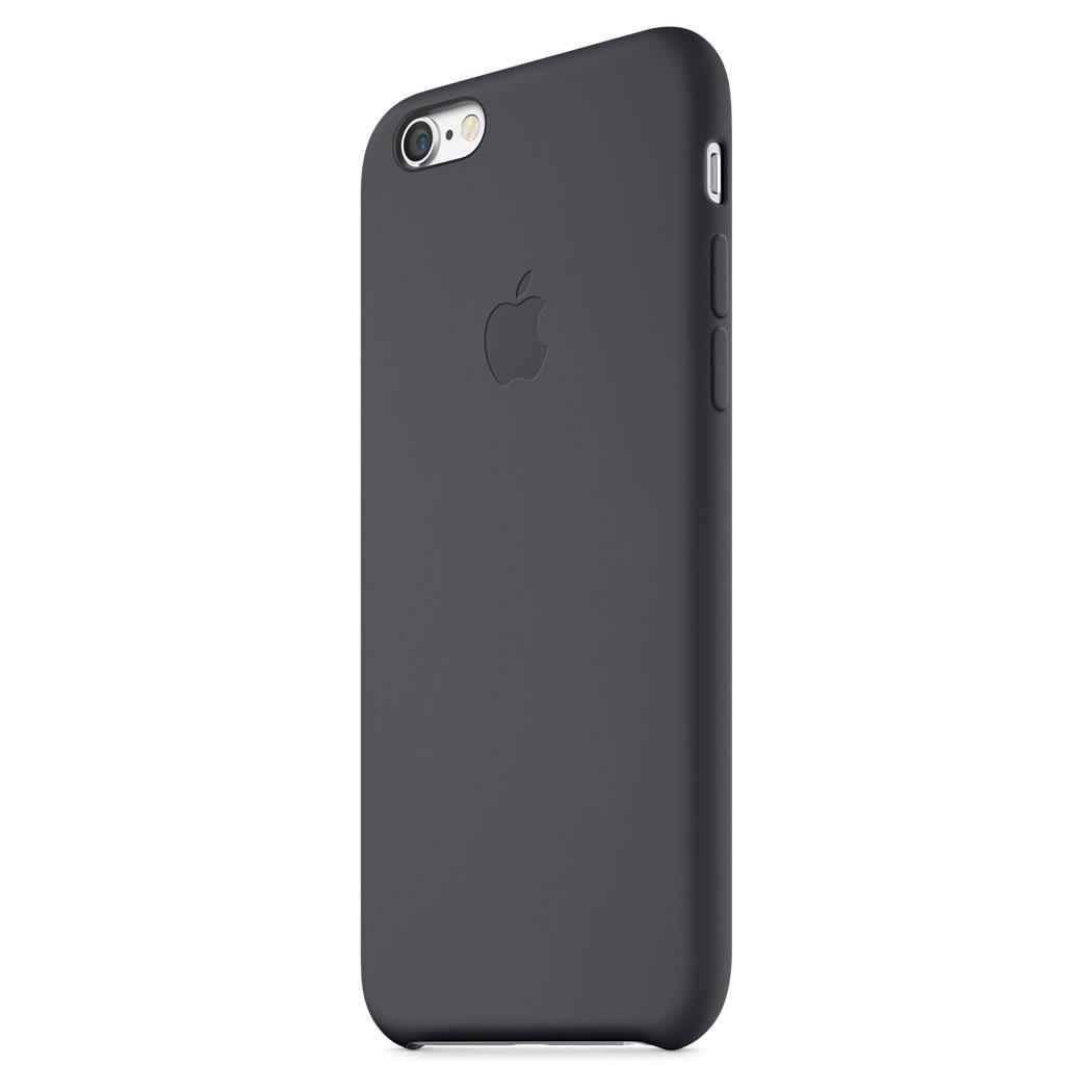 coque noir silicone iphone 6