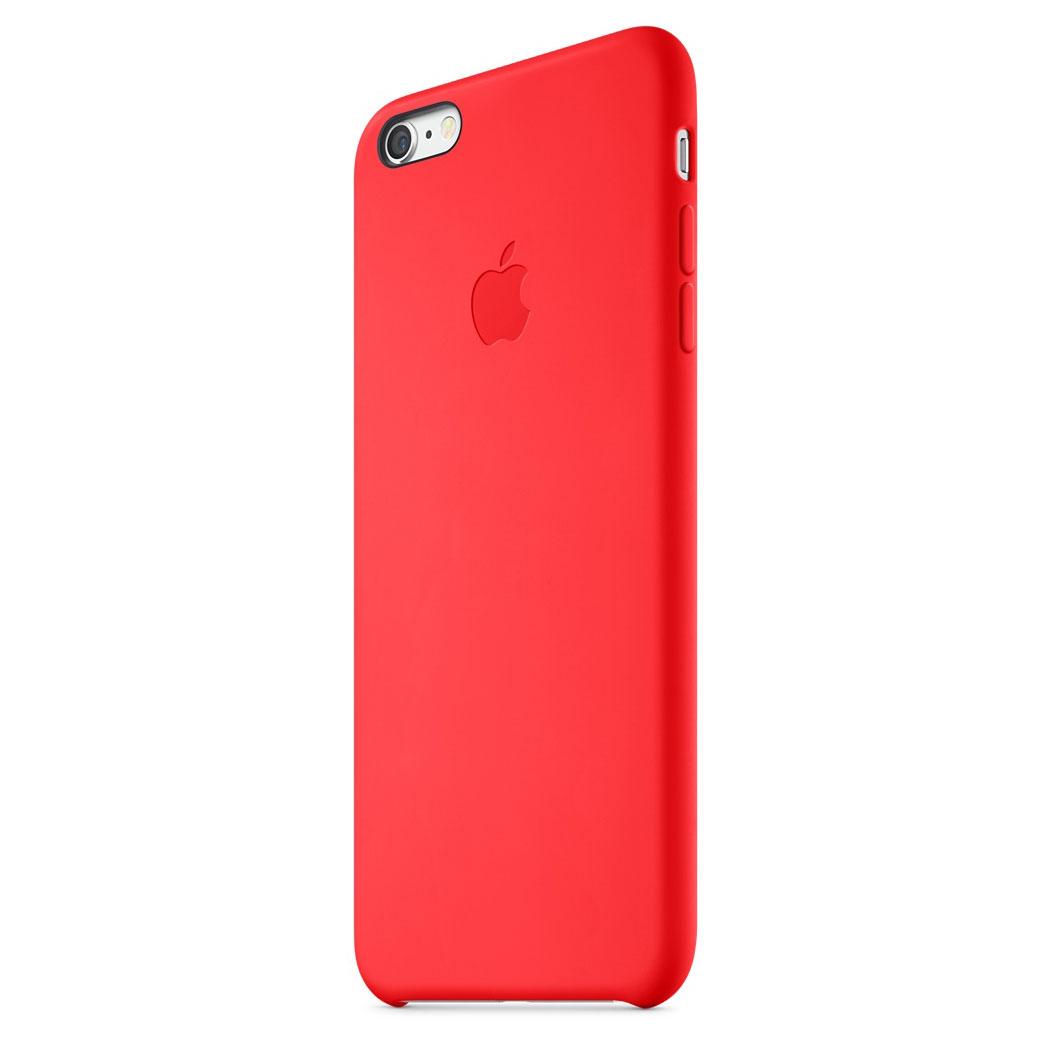 coque iphone 6 plus silicone rouge