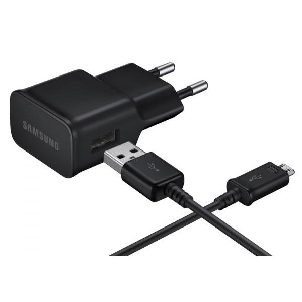 Chargeur téléphone Samsung EP-TA12 Noir Chargeur secteur micro USB 2 A