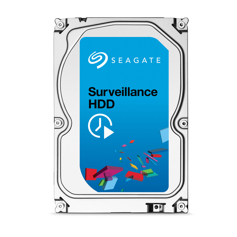 "Disque dur interne Seagate Surveillance HDD 6 To (+Rescue)  Disque dur 3.5"" 6 To 7200 RPM 128 Mo Serial ATA 6 Gb/s pour NAS vidéosurveillance"