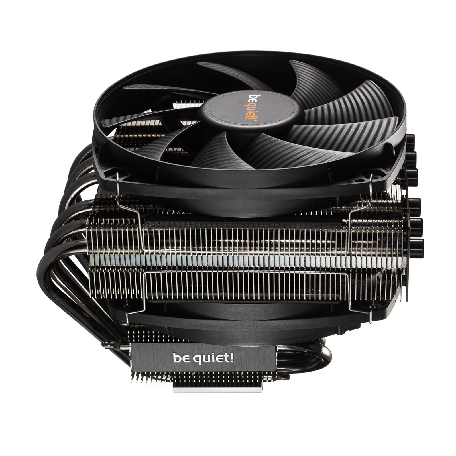 Ventilateur processeur be quiet! Dark Rock TF Ventilateur de processeur (pour Socket AMD AM2/AM2+/AM3/AM3 /FM1/FM2/FM2  et INTEL LGA 775/1150/1151/1155/1156/1366/2011/2011-3/2066) - Garantie constructeur 3 ans