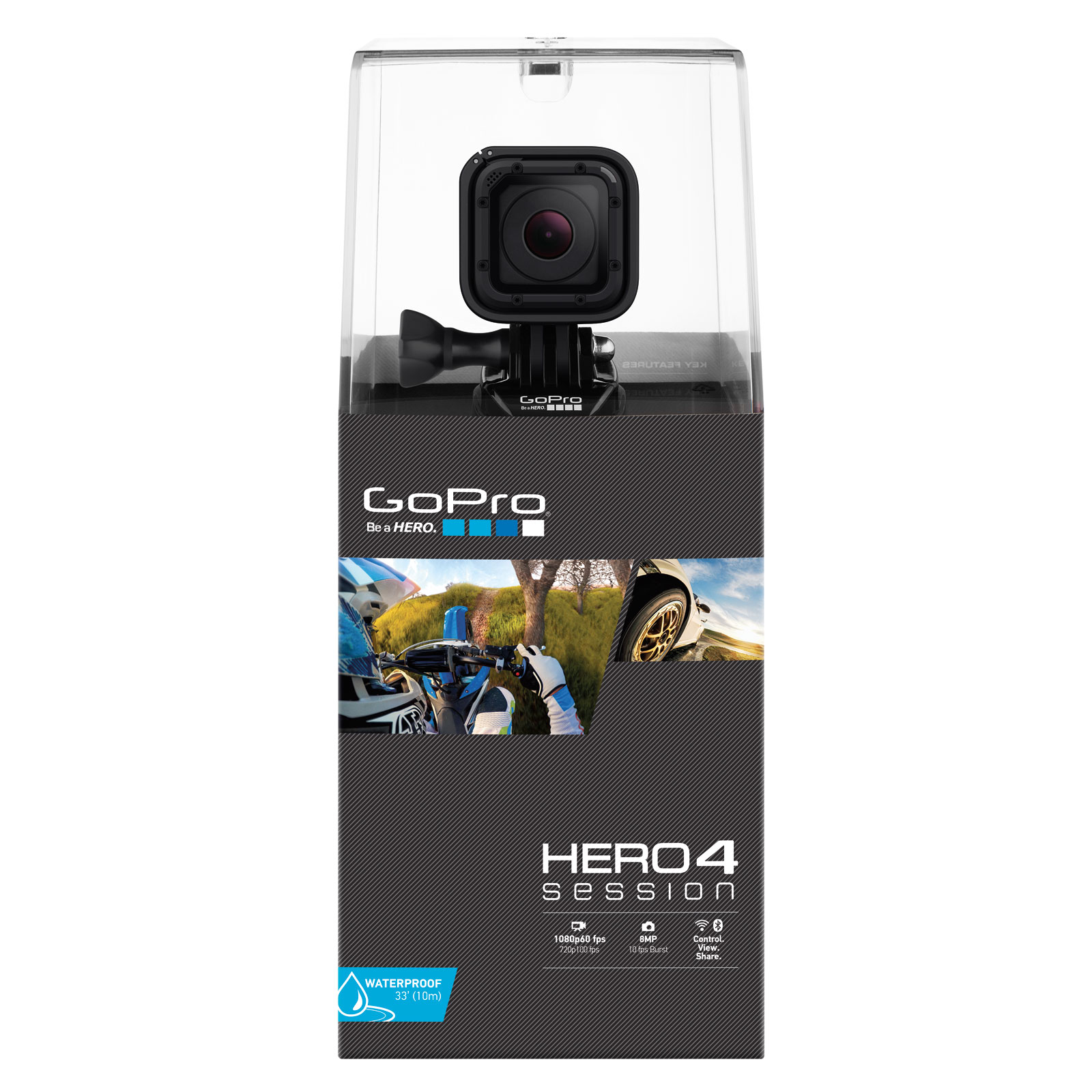 gopro hero 4 session cam ra sportive gopro sur. Black Bedroom Furniture Sets. Home Design Ideas