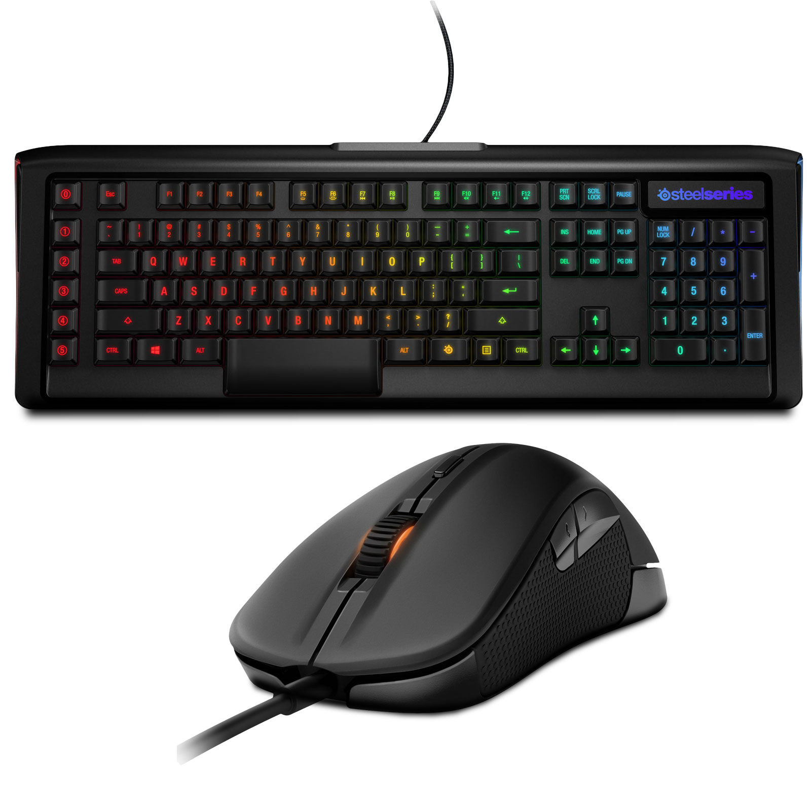 steelseries apex m800 rival pack clavier souris. Black Bedroom Furniture Sets. Home Design Ideas