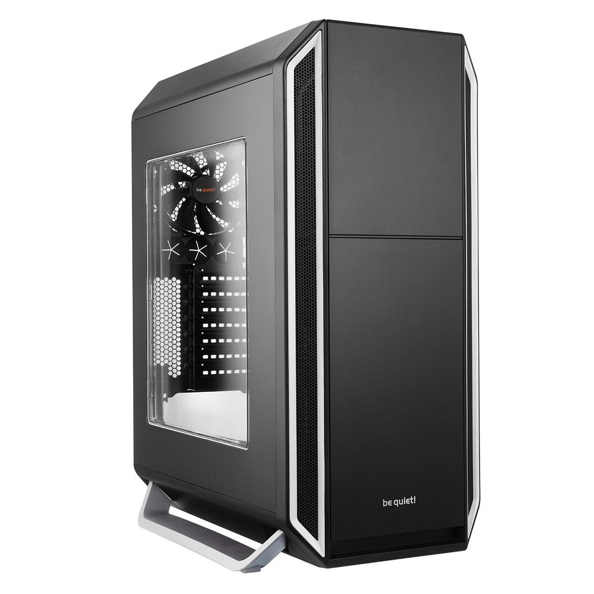 Boîtier PC be quiet! Silent Base 800 Window (Noir/Argent) Boîtier grand tour avec fenêtre