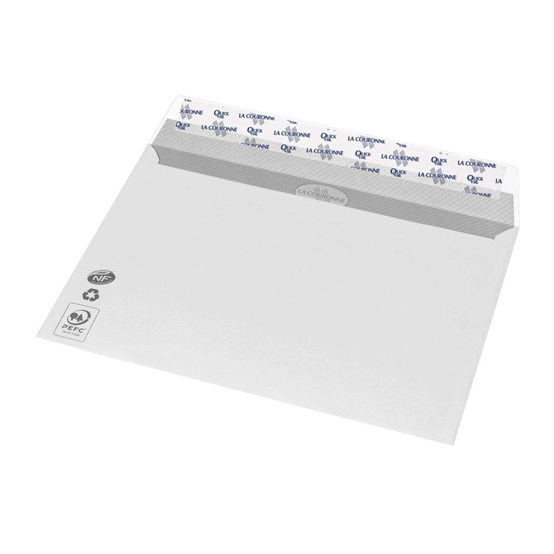 La couronne boite de 500 enveloppes c5 pleine enveloppe for Fenetre 90x140