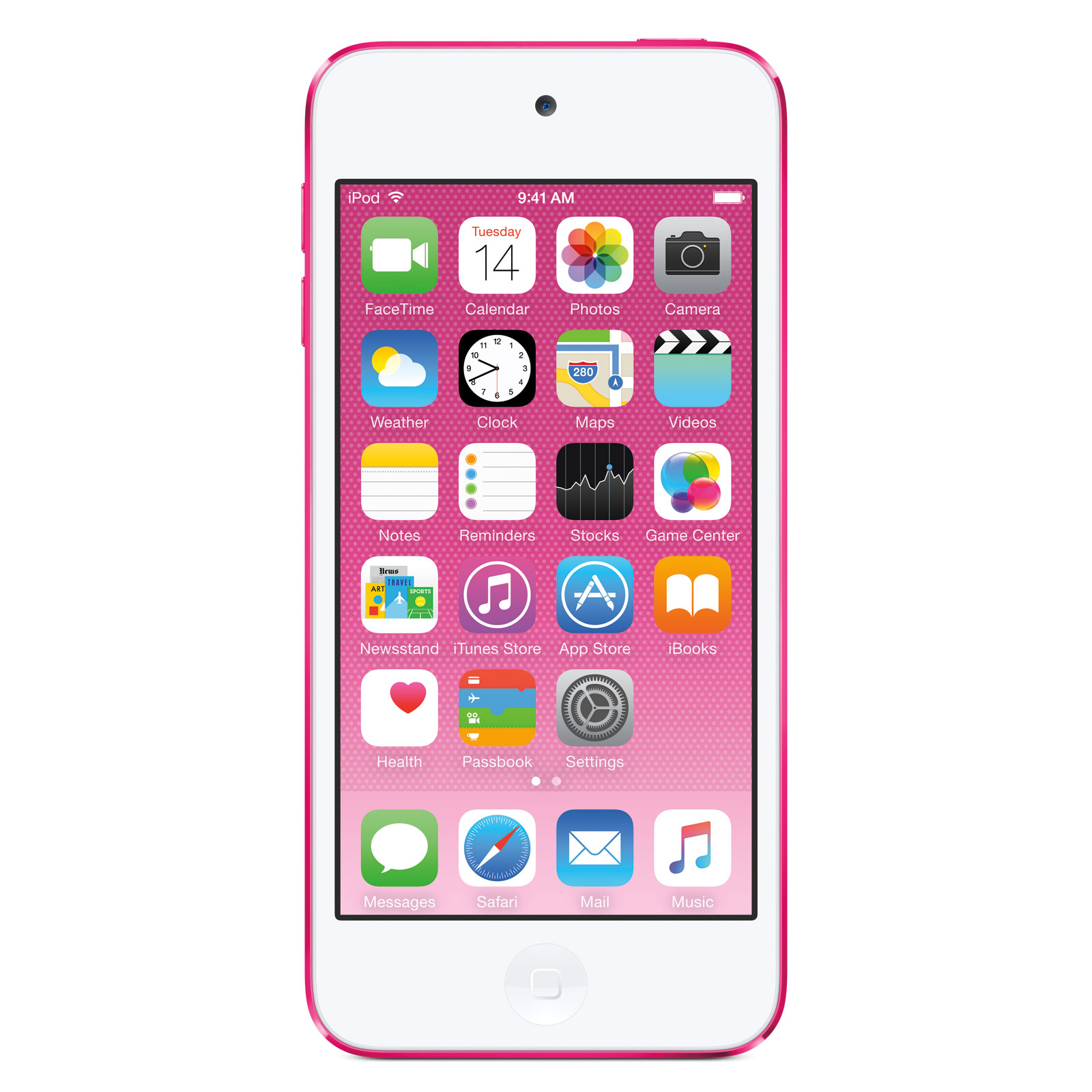 apple ipod touch 16 go rose 2015 lecteur mp3 ipod apple sur. Black Bedroom Furniture Sets. Home Design Ideas