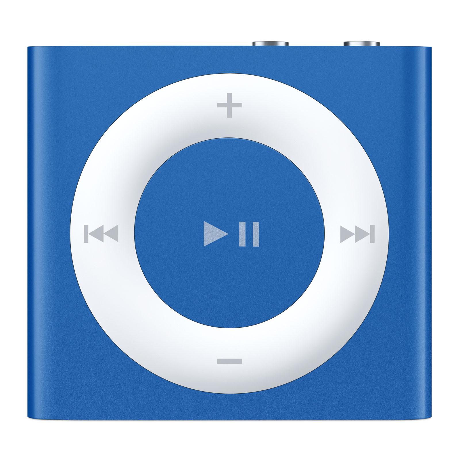 Apple ipod shuffle 2 go bleu 2015 lecteur mp3 ipod for Housse ipod shuffle