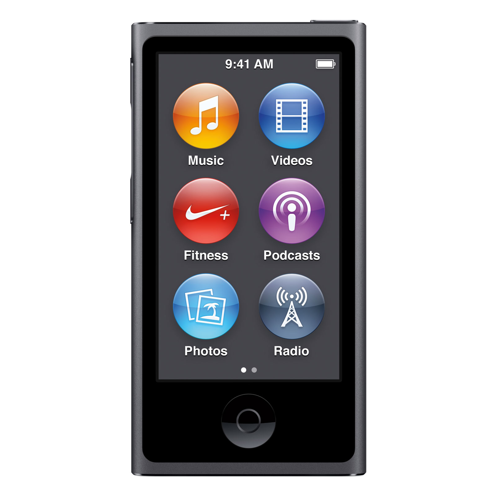 apple ipod nano 16 go gris sid ral 2015 lecteur mp3. Black Bedroom Furniture Sets. Home Design Ideas