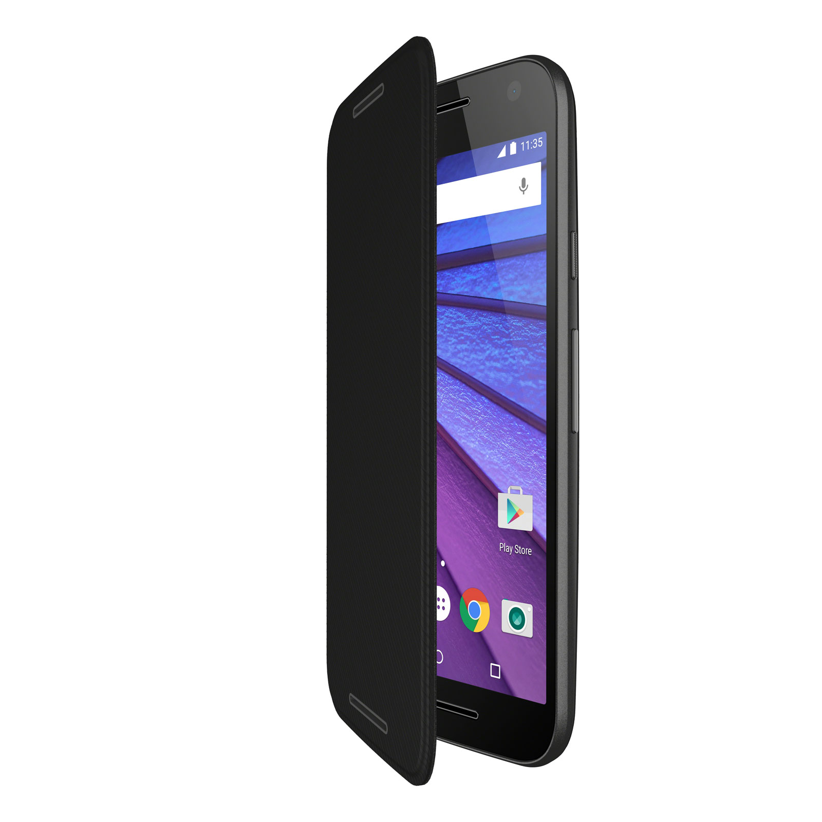 Motorola etui folio noir motorola moto g 3 me g n ration for E case del sater