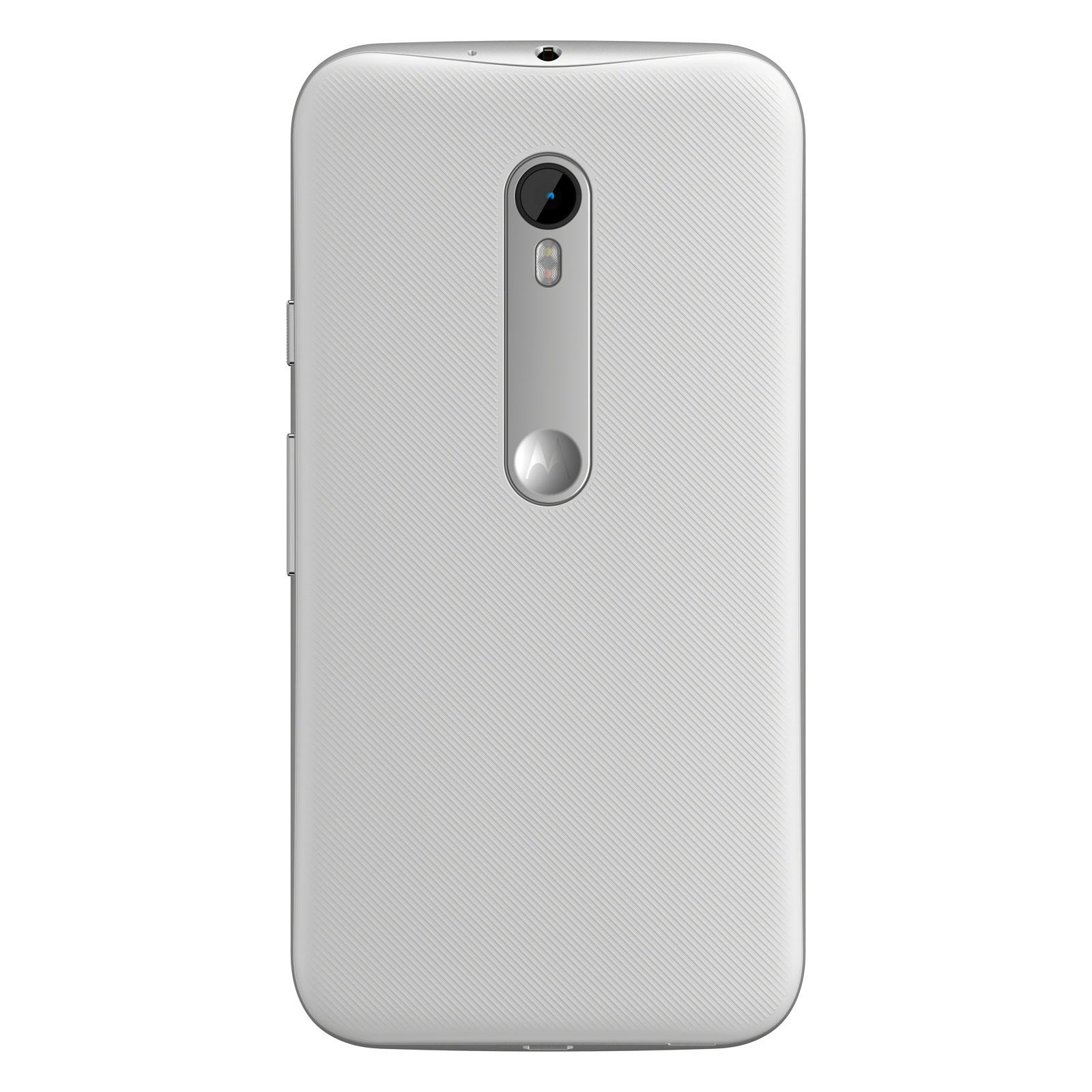 Motorola moto g 3 me g n ration 8 go blanc mobile for Photo ecran moto g