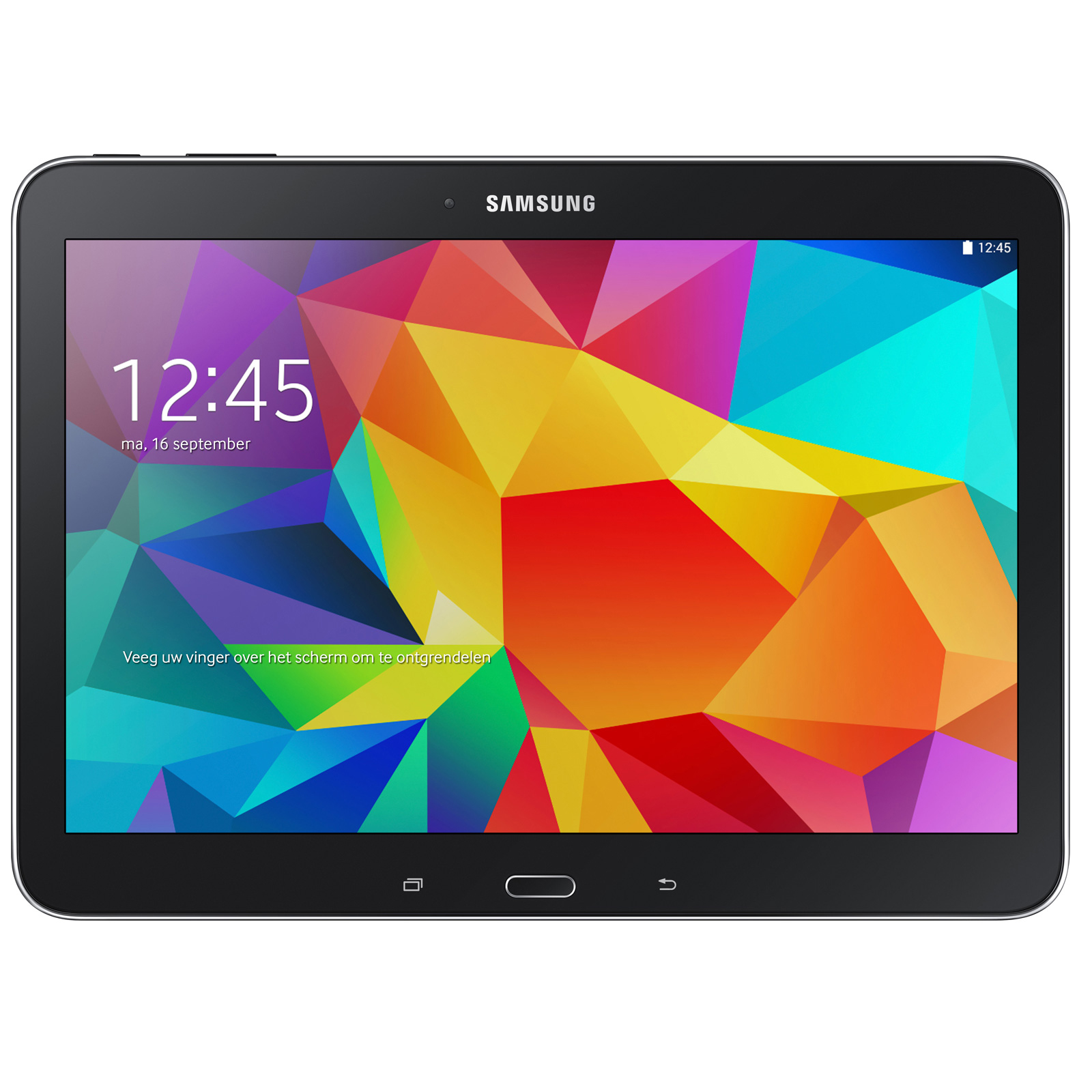 samsung galaxy tab 4 10 1 sm t530 16 go noir tablette. Black Bedroom Furniture Sets. Home Design Ideas