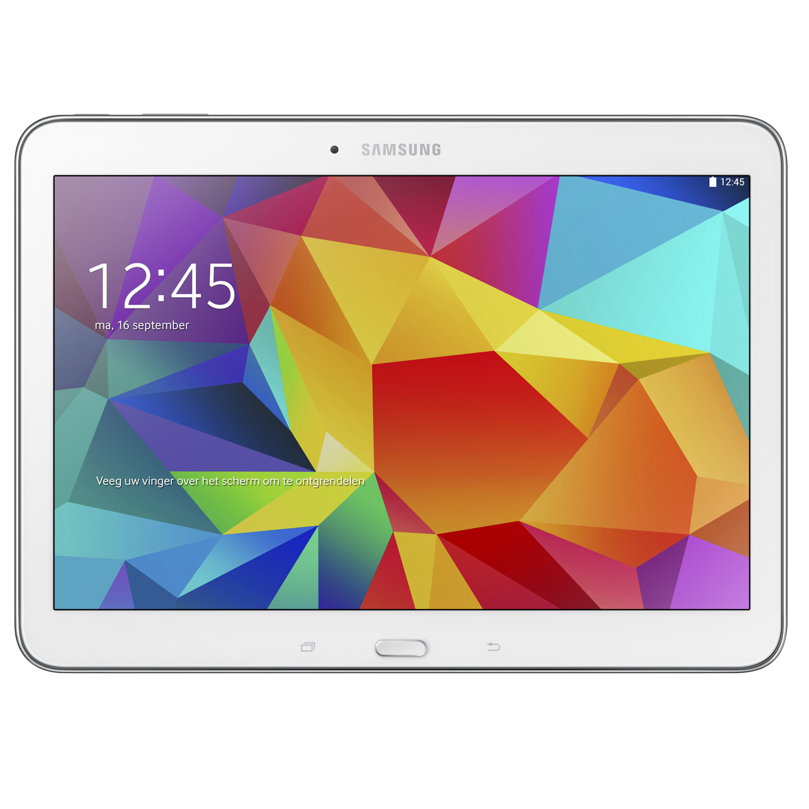 samsung galaxy tab 4 10 1 sm t535 16 go blanc tablette. Black Bedroom Furniture Sets. Home Design Ideas
