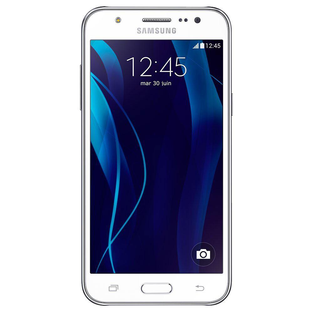 samsung galaxy j5 blanc mobile smartphone samsung sur. Black Bedroom Furniture Sets. Home Design Ideas