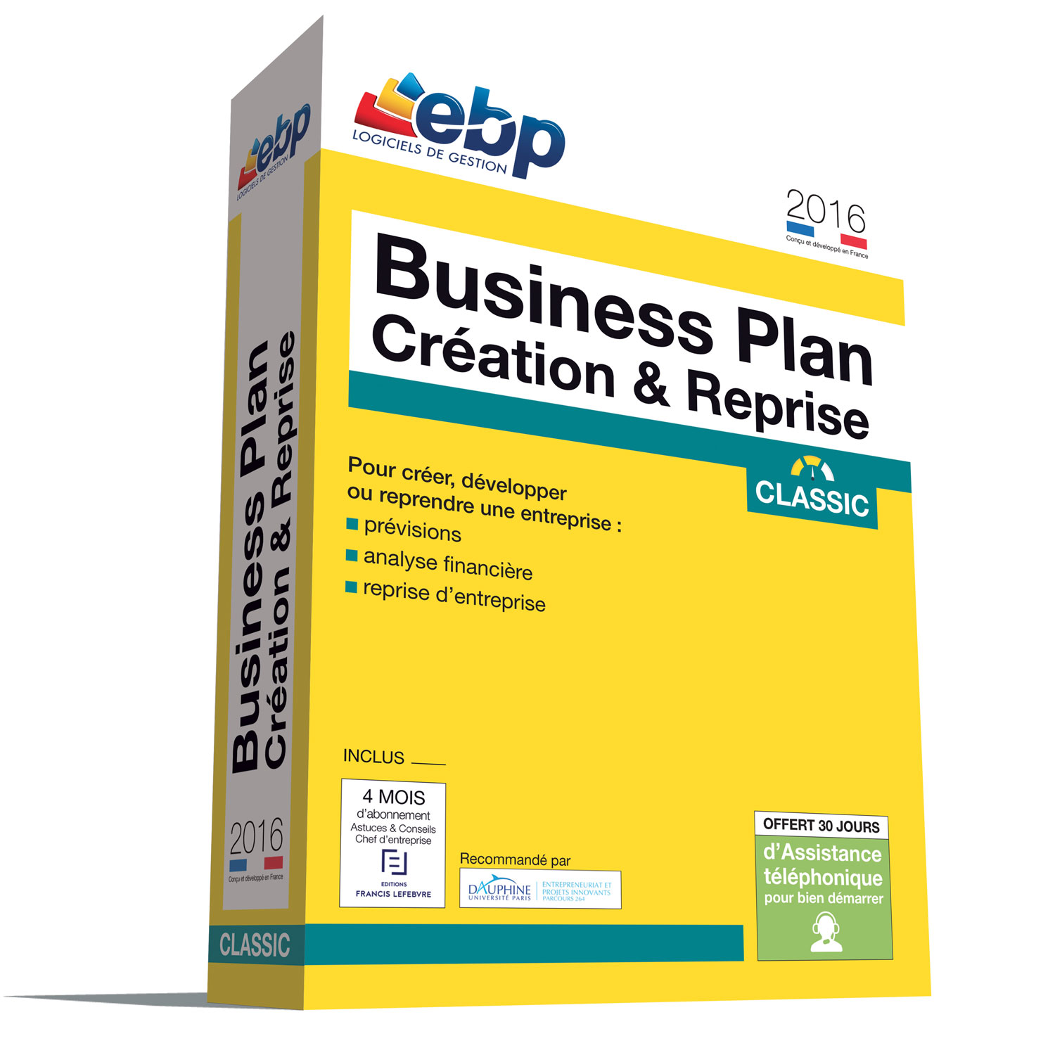 Ebp business plan cr ation reprise classic 2016 for Logiciel creation de plan