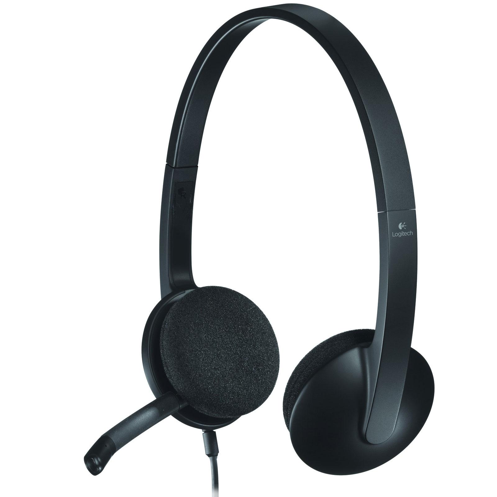 logitech usb headset h340 micro casque logitech sur. Black Bedroom Furniture Sets. Home Design Ideas