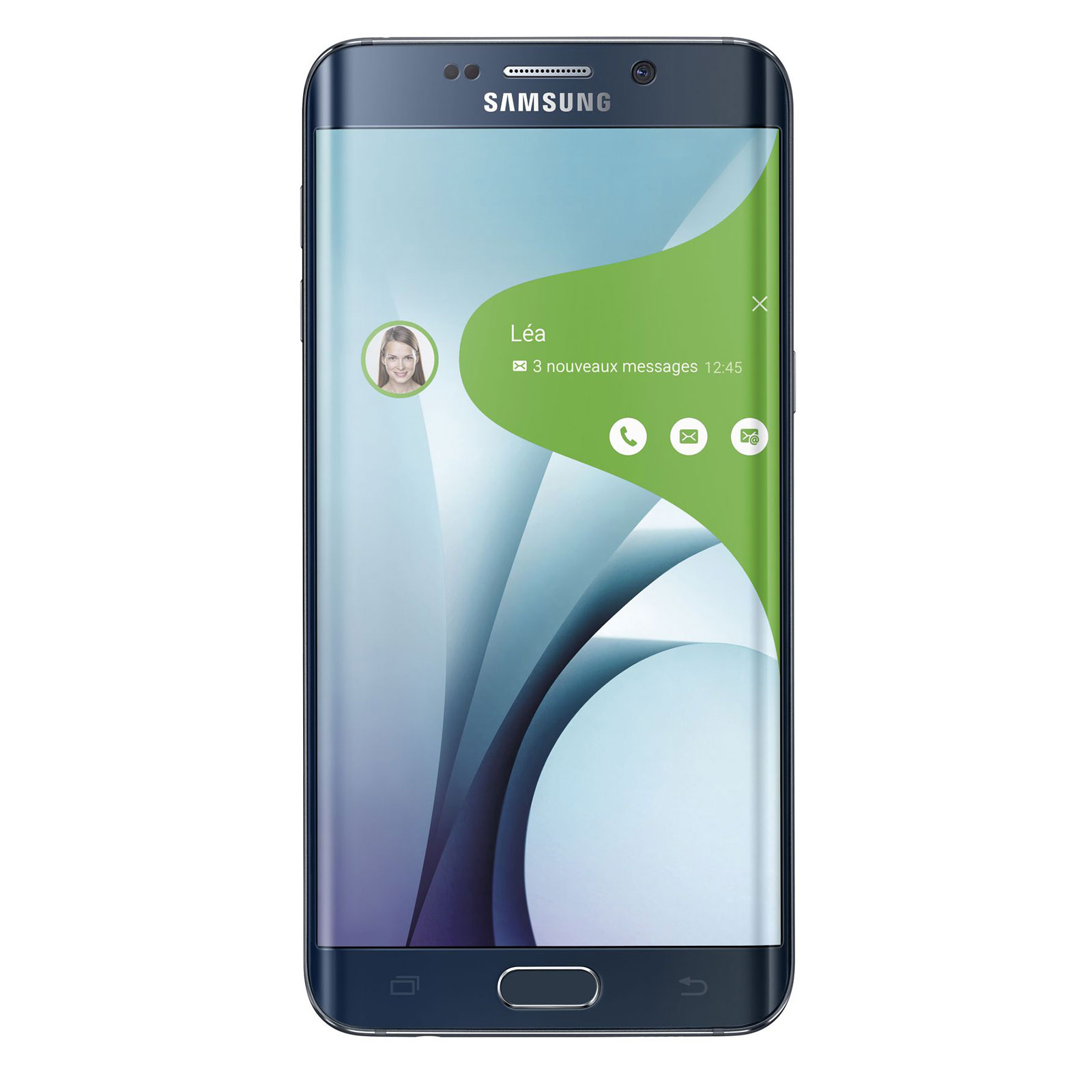 "Mobile & smartphone Samsung Galaxy S6 Edge+ SM-G928F Noir 32 Go Smartphone 4G-LTE Advanced - Exynos 7420 8-Core 2.1 Ghz - RAM 4 Go - Ecran tactile 5.7"" 1440 x 2560 - 32 Go - NFC/Bluetooth 4.1 - 3000 mAh - Android 5.1"