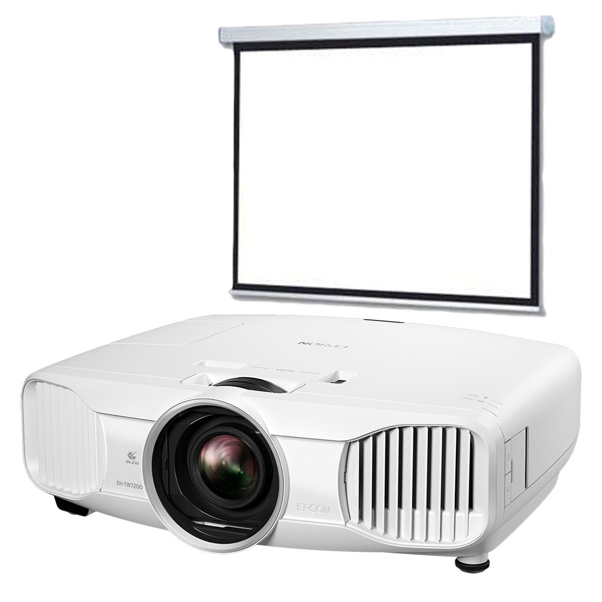 Epson eh tw7200 ldlc ecran motoris vid oprojecteur for Meuble videoprojecteur