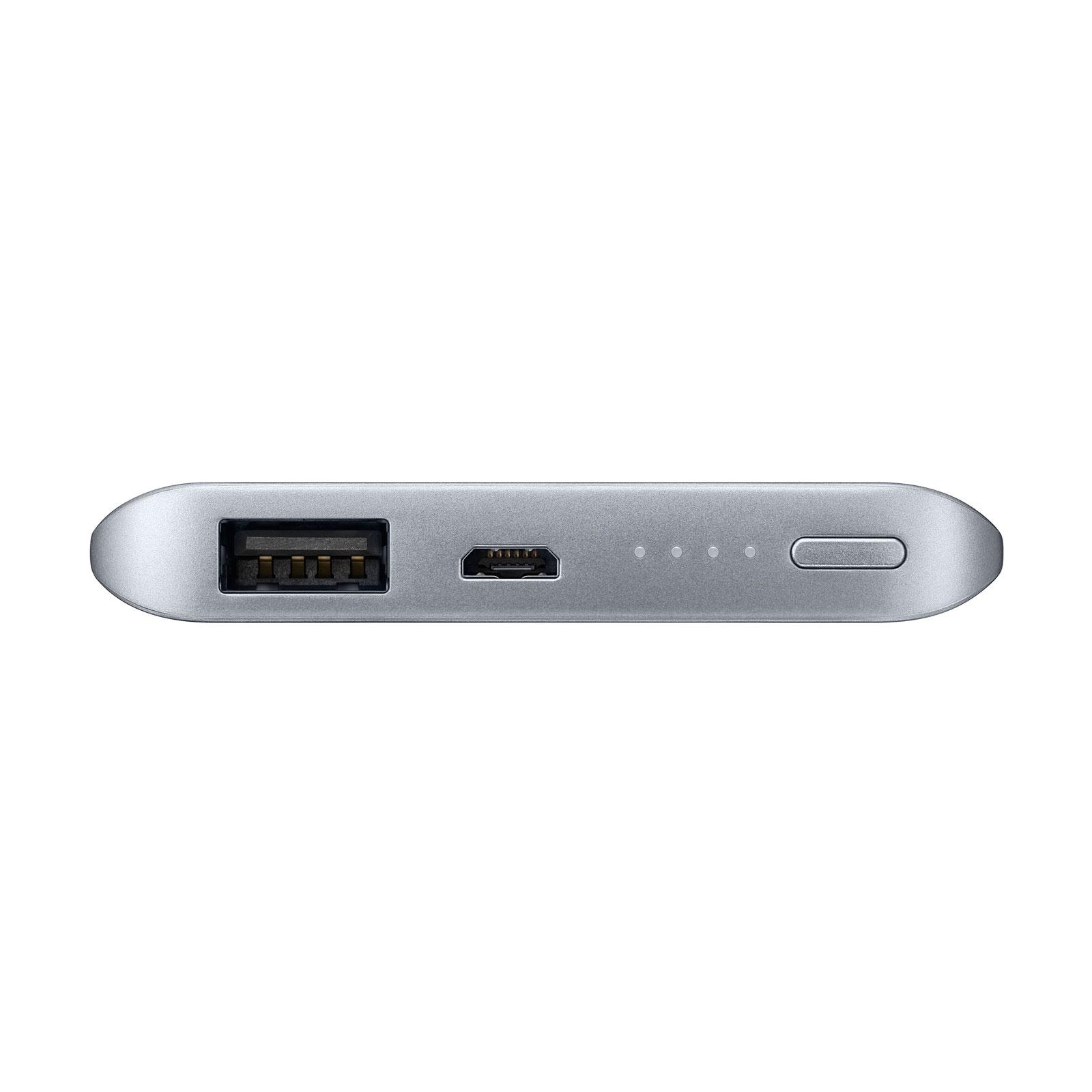 Samsung PowerBank Fast Charge Argent - Batterie téléphone Samsung sur LDLC.com