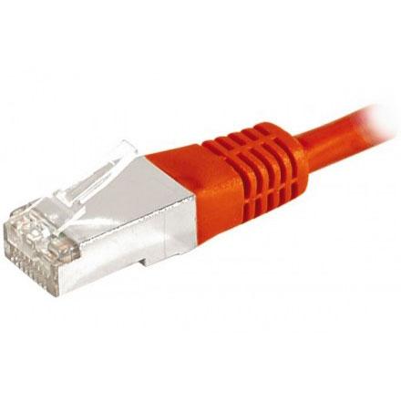 Cordon rj45 cat gorie 6a f utp 20 m rouge c ble rj45 g n rique sur - Categorie cable ethernet ...