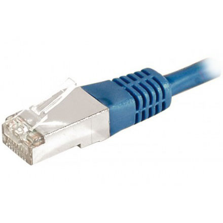 Cordon rj45 cat gorie 6a f utp 25 m bleu c ble rj45 - Categorie cable ethernet ...