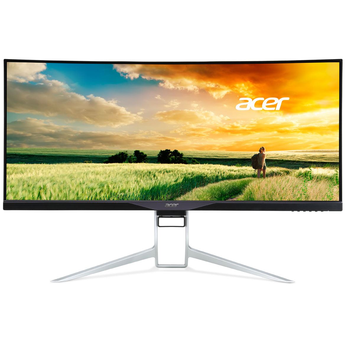 Acer 34 led xr341ckbmijpphz ecran pc acer sur for Dalle ips va
