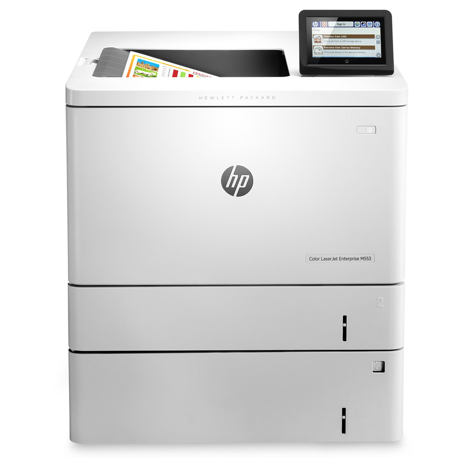 hp color laserjet enterprise m553x imprimante laser hp sur. Black Bedroom Furniture Sets. Home Design Ideas