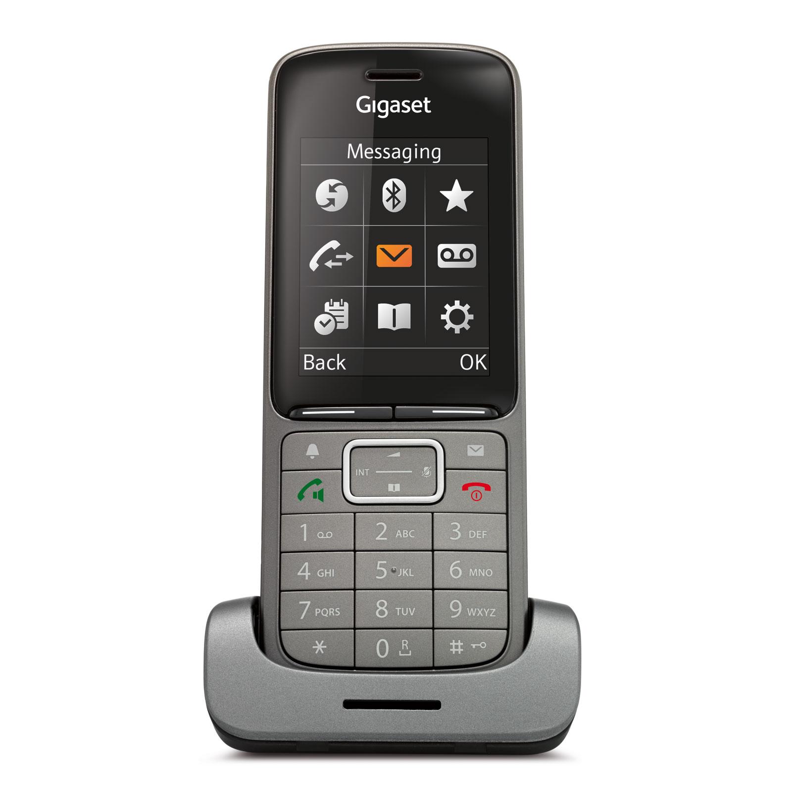 gigaset sl750h pro t l phone sans fil gigaset sur. Black Bedroom Furniture Sets. Home Design Ideas