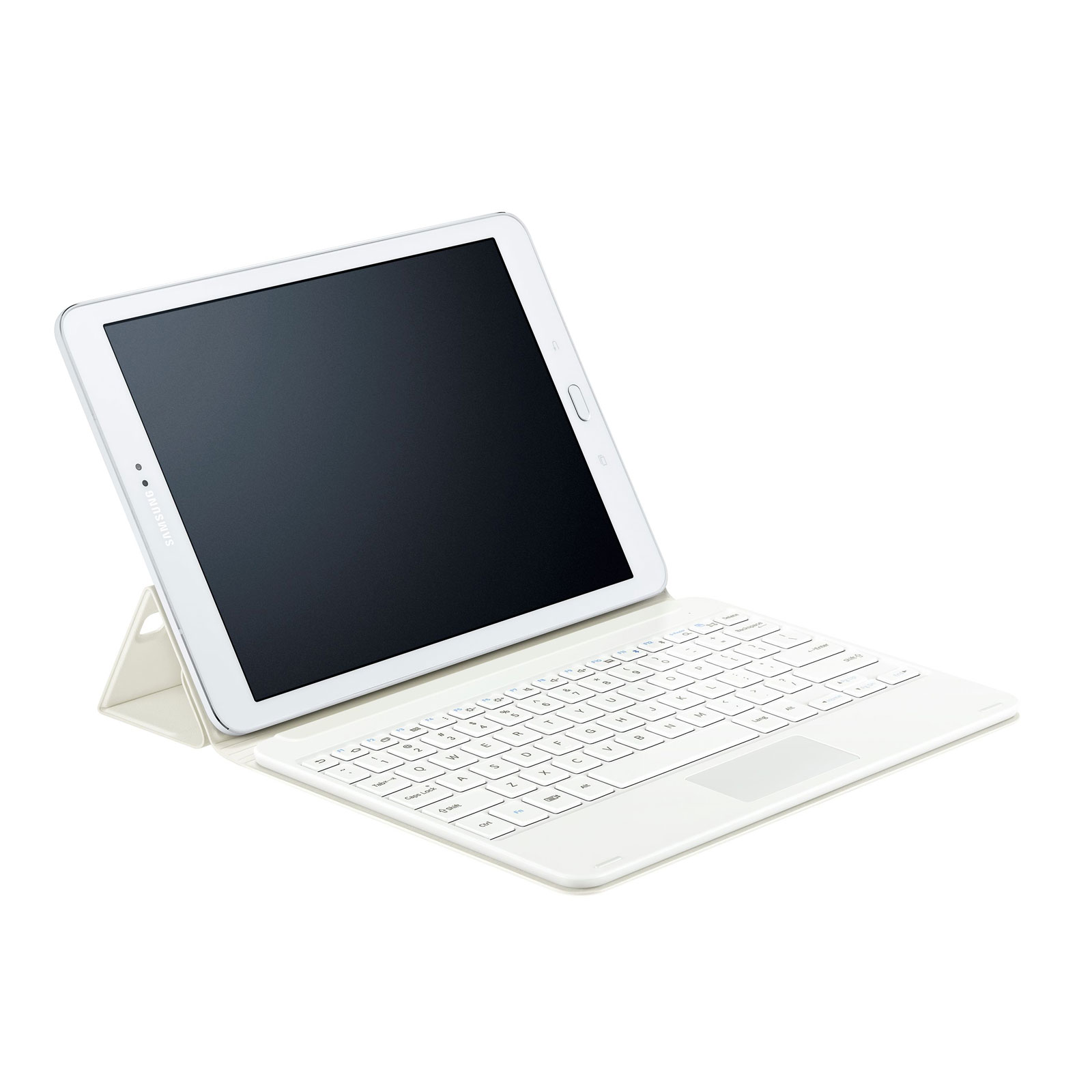 samsung book cover keyboard ej ft810f blanc pour galaxy. Black Bedroom Furniture Sets. Home Design Ideas